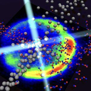Crossed Molecular Beams schematic